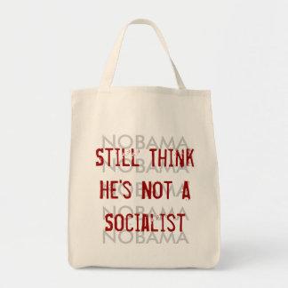Todavía piense que él no es un socialista bolsa lienzo