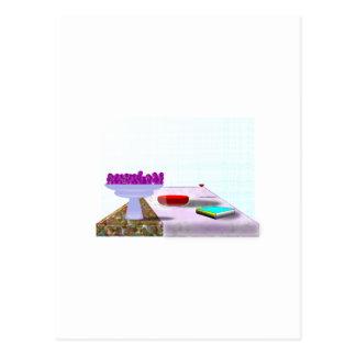 Todavía proyecto de la escuela de la vida tarjeta postal