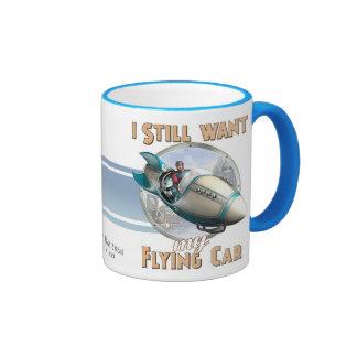 Todavía quiero mi taza del coche del vuelo