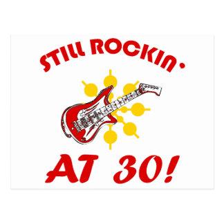 ¡Todavía Rockin en 30! Tarjetas Postales