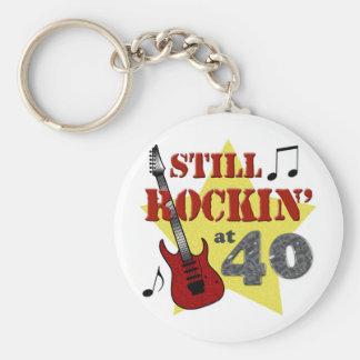 Todavía Rockin en 40 Llaveros Personalizados
