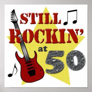 Todavía Rockin en 50 Póster