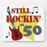 Todavía Rockin en 50 Tapetes De Ratón