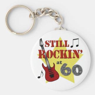 Todavía Rockin en 60 Llavero Redondo Tipo Pin