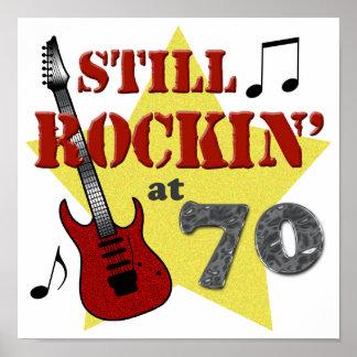 Todavía Rockin en 70 Póster