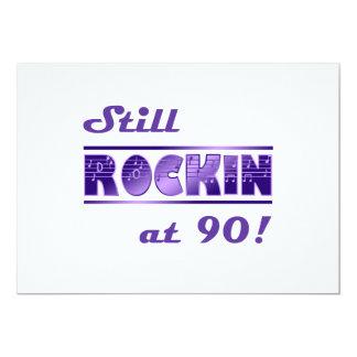 Todavía Rockin en 90 Invitación 12,7 X 17,8 Cm