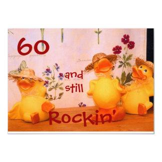 Todavía Rockin Invitación 11,4 X 15,8 Cm