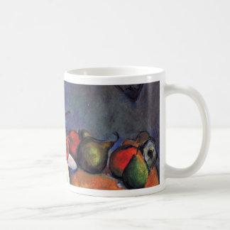 Todavía tarro del jengibre de Paul Cézanne (la mej Tazas