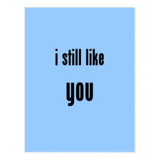 todavía tengo gusto de usted tarjetas postales