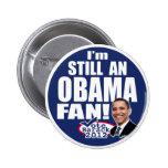 Todavía una fan de Obama Pins