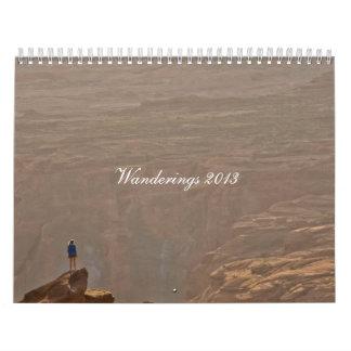 Todavía vagando 2013 calendarios