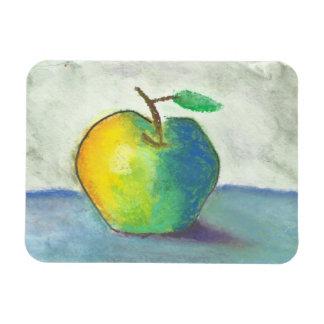 Todavía vida Apple Imán