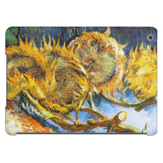 Todavía vida con cuatro girasoles Van Gogh Vincent Funda Para iPad Air