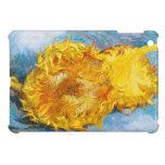 Todavía vida con dos girasoles de Vincent van Gogh iPad Mini Carcasas