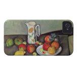 Todavía vida con el jarro de leche y la fruta, c.1 Case-Mate iPhone 4 carcasas