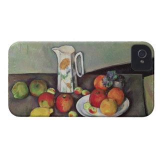 Todavía vida con el jarro de leche y la fruta, Case-Mate iPhone 4 cárcasa