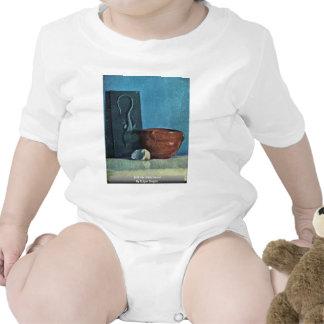 Todavía vida con el lagarto de Edgar Degas Traje De Bebé