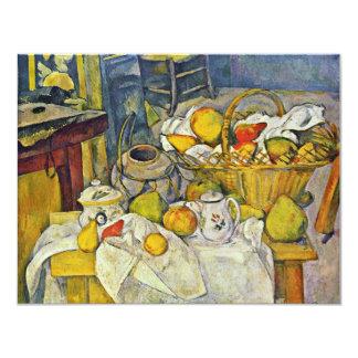 Todavía vida con la cesta de fruta de Paul Cézanne Comunicado Personal