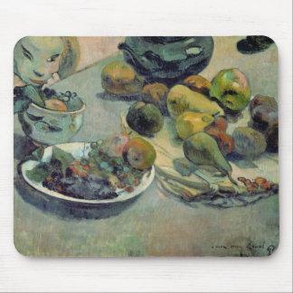 Todavía vida con la fruta, 1888 tapetes de ratón