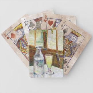 Todavía vida con la pintura de Vincent van Gogh de Baraja De Cartas