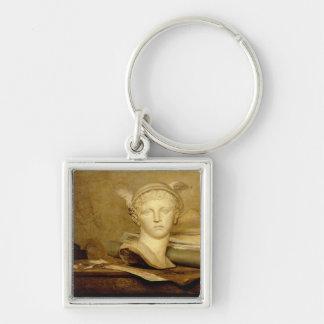 Todavía vida con las cualidades de los artes, 1765 llaveros