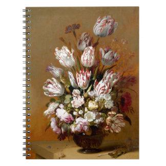 Todavía vida con las flores 1639 - Hans Bollongier Cuadernos