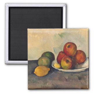 Todavía vida con las manzanas, c.1890 imán de nevera