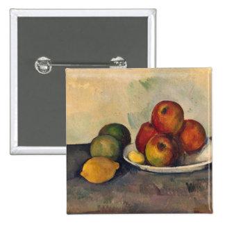 Todavía vida con las manzanas c 1890 pins