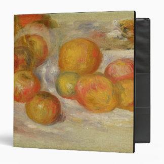 """Todavía vida con las manzanas, c.1898 (aceite en carpeta 1 1/2"""""""
