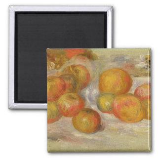Todavía vida con las manzanas, c.1898 (aceite en l imán de nevera
