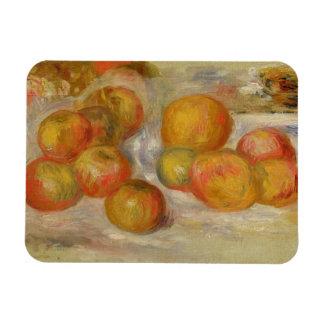 Todavía vida con las manzanas, c.1898 (aceite en l imanes rectangulares