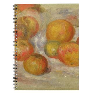 Todavía vida con las manzanas, c.1898 (aceite en l notebook