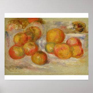 Todavía vida con las manzanas, c.1898 (aceite en l posters