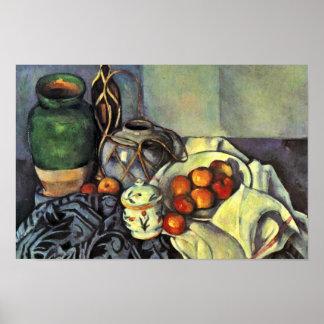Todavía vida con las manzanas de Paul Cézanne Impresiones