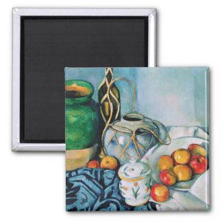 Todavía vida con las manzanas, Paul Cézanne Imán