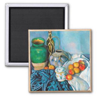 Todavía vida con las manzanas Paul Cézanne que pin Iman De Frigorífico