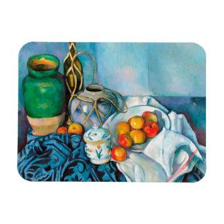 Todavía vida con las manzanas Paul Cézanne que pin Imanes Flexibles