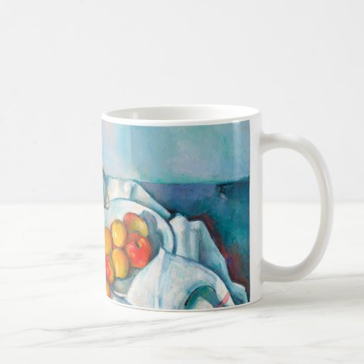 Todavía vida con las manzanas Paul Cézanne que pin Tazas De Café