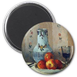 Todavía vida con las manzanas y la jarra - Pissarr Iman