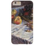 Todavía vida con las manzanas y las uvas de Claude Funda De iPhone 6 Plus Barely There