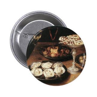 Todavía vida con las ostras - Osias Beert Pins