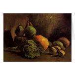 Todavía vida con las verduras y la fruta de Van Go Felicitaciones