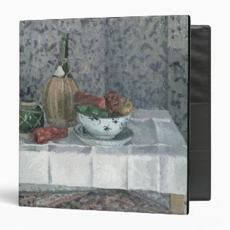 """Todavía vida con pimientas, 1899 (aceite en lona) carpeta 1 1/2"""""""