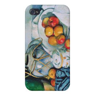 Todavía vida con s, Paul Cézanne iPhone 4 Funda