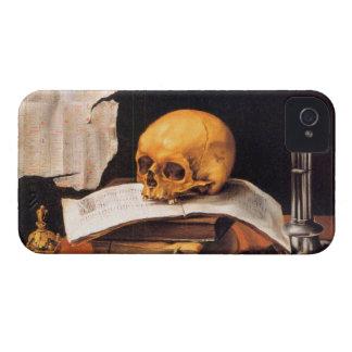 Todavía vida con un cráneo y un almanaque - Stosko