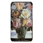 Todavía vida de flores en un vidrio de consumición iPod Case-Mate cárcasa