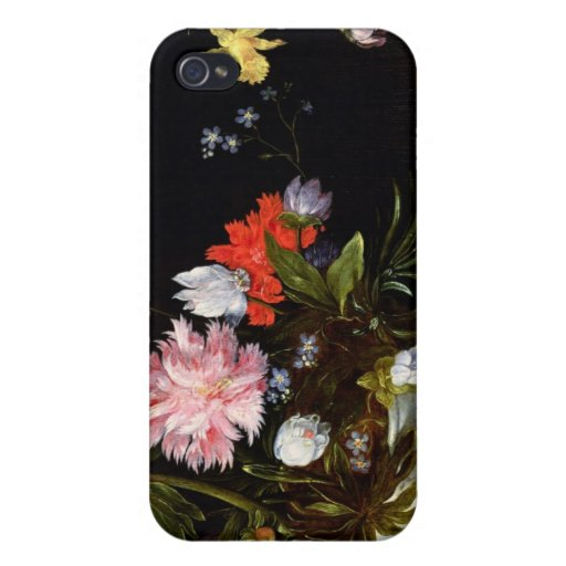 Todavía vida de flores iPhone 4/4S fundas