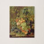 Todavía vida de la fruta rompecabezas con fotos