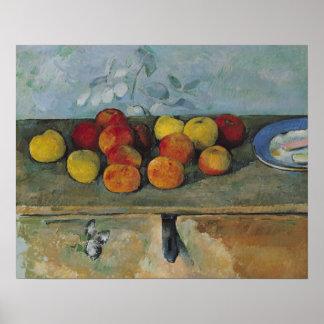 Todavía vida de las manzanas y de las galletas, 18 posters