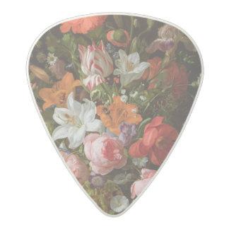 Todavía vida de los lirios de los rosas, tulipanes plectro de acetal